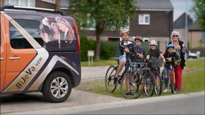 BiJeVa schenkt 120 fietsen aan kansarme gezinnen, met dank aan de Ronde van Frankrijk