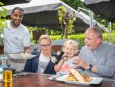 Brasserie 't Graanhuys heeft een terras weg van de buitenwereld