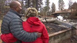 Bewoners van Paradise keren terug naar hun verwoeste huizen na de bosbranden