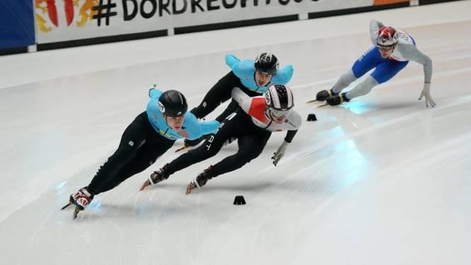 """Adriaan Dewagtere keert terug op het ijs na zware val op training: """"Enorm hard naar uitgekeken"""""""