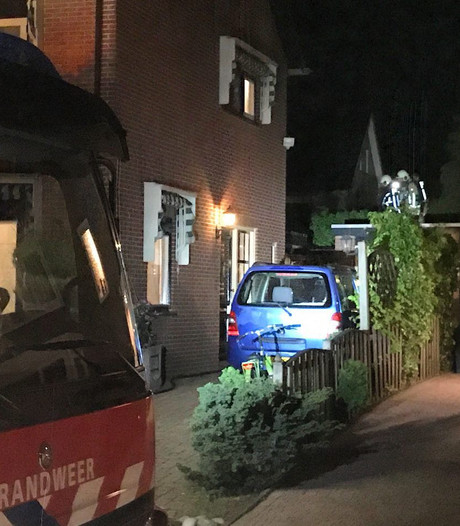Coniferenbrand in Oldenzaal