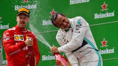Ferrari schiet in eigen voet