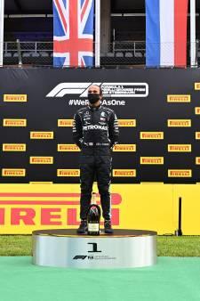 Verstappen kan niet op tegen Mercedes-geweld en wordt derde in Stiermarken