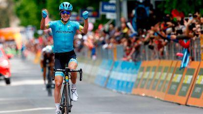 VIDEO. Pittige zevende Giro-etappe prooi voor Bilbao, Conti behoudt zijn leiderstrui