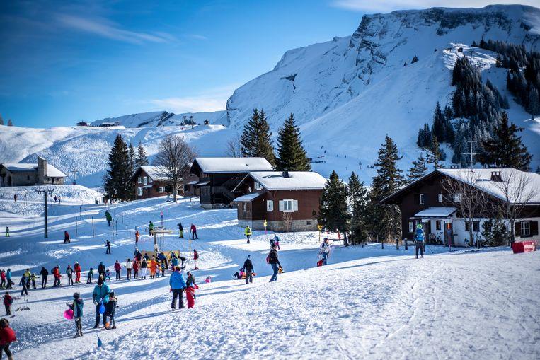 Skigebied Klewenalp Beeld Dana de Jong