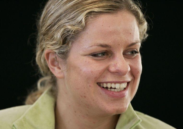 Kim Clijsters in 2007.