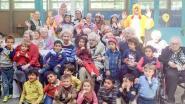 Leerlingen verzorging aan de slag bij senioren en kleuters