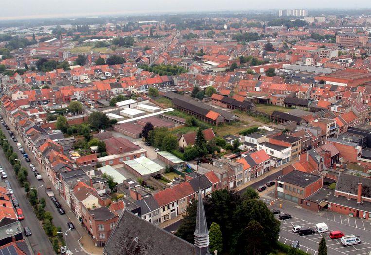 De vroegere houtzagerij in het binnengebied aan de Truweelstraat en Elisabethlaan.