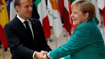 Europese steun voor Angela Merkel voor aanvang van cruciale top over migratie