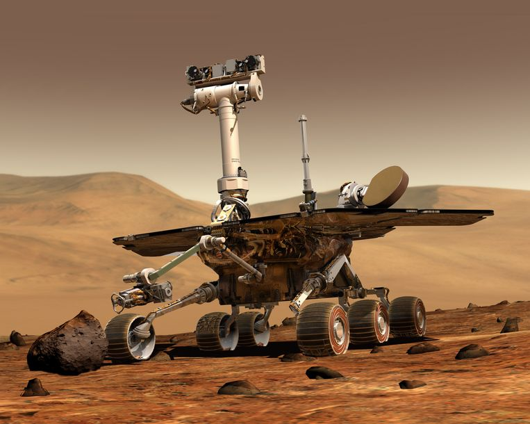 De Mars-rover Opportunity.
