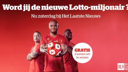 Maak kans op de Lotto-Jackpot dankzij Het Laatste Nieuws