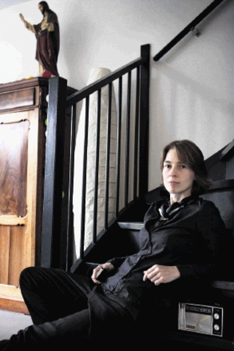 Componiste Mayke Nas. ( FOTO BART VAN DER MOEREN) Beeld