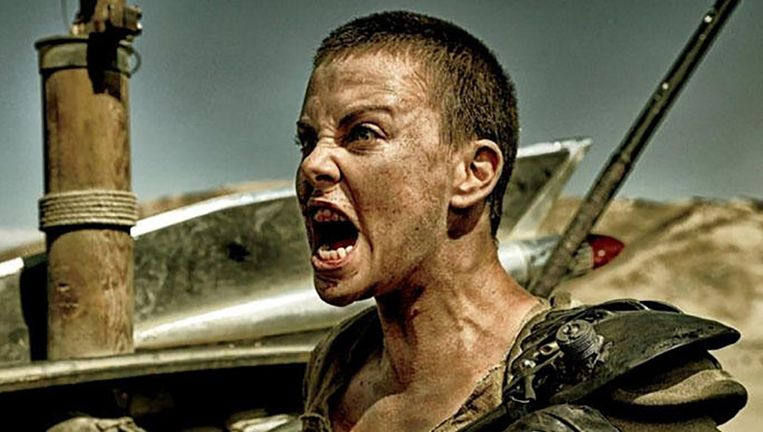 Charlize Theron in de film Mad Max: Fury Road. Beeld .