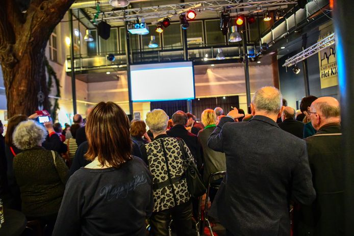 Verkiezingsbijeenkomst in Nuenen.