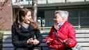 Hart voor Zwolle koppelt jongeren aan Zwollenaren die wel wat hulp kunnen gebruiken, bijvoorbeeld als 'maatje'.