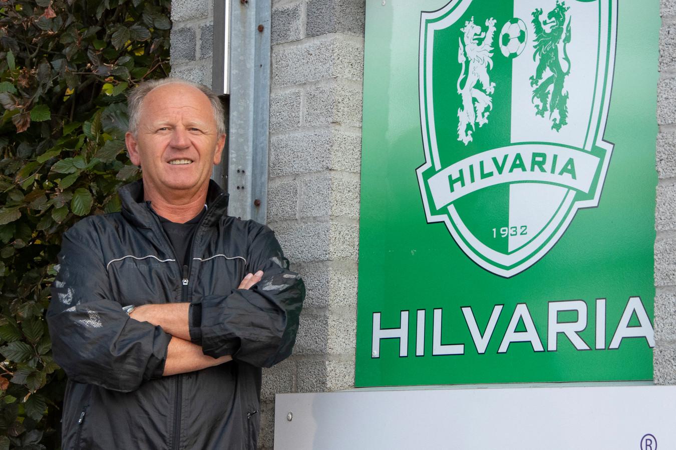Hoofdtrainer Hilvaria Henri van den Braak