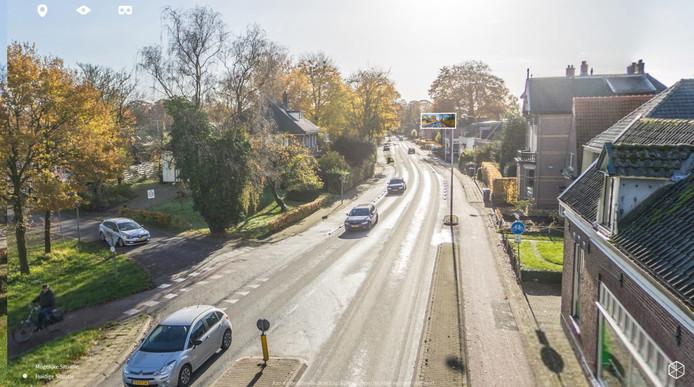 Huidige situatie Rijksstraatweg in Voorst