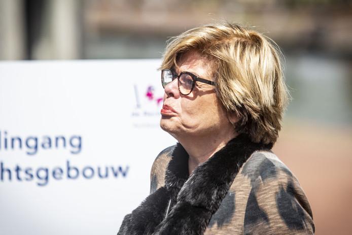 Brigitte van Egten, ex-partner van Gerard Sanderink, ging dinsdag opnieuw naar de rechter om een rectificatie te eisen.