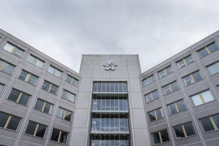 Het hoofdkantoor van  Nederlandse Aardolie Maatschappij (NAM). Beeld ANP