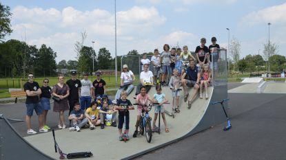 Nieuwe skateplein officieel geopend