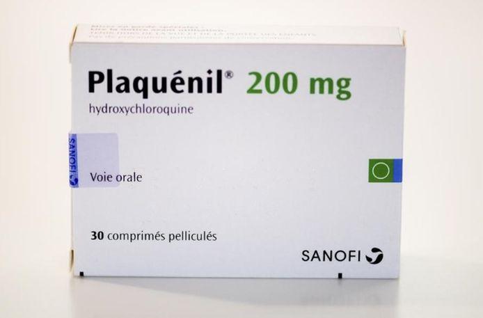 Hydroxoychloroquine, één van de medicijnen die de huisarts bij zijn behandeling gebruikt.