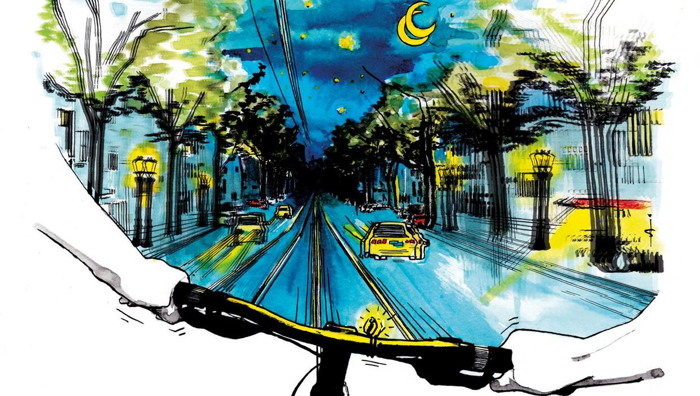 Dronken Op De Fiets Opeens Lagen Daar Die Tramrails Het