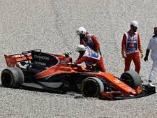 Gridstraf voor Vandoorne na botsing met Massa