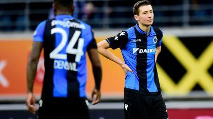 Het kon niet blijven duren: Club lijdt in Slag om Vlaanderen tegen AA Gent eerste nederlaag sinds oktober