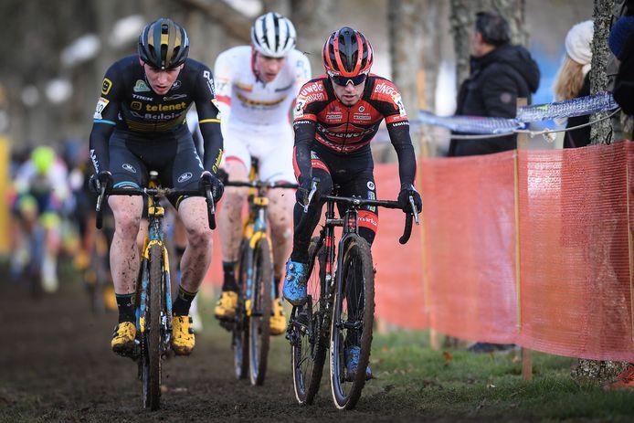 Thijs Aerts, Toon Aerts en Eli Iserbyt.