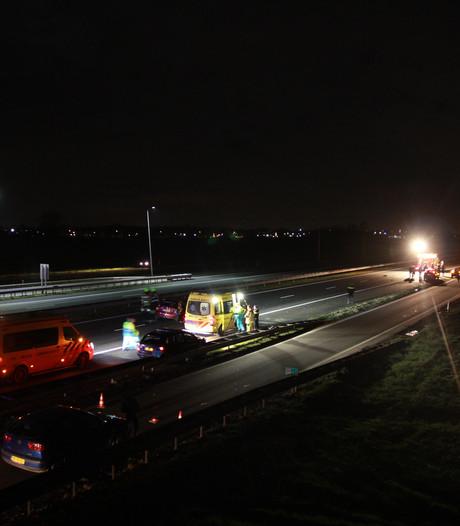 Rijstrook A15 weer open na ongeluk tussen Dodewaard en Ochten