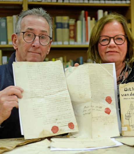 Documenten vanaf 1792: Historische pracht op een oude zolder in Haaksbergen