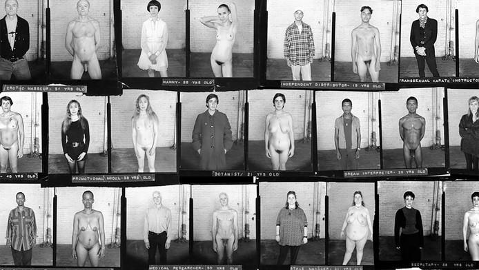 Beeld uit de serie van Naked New York (1995).