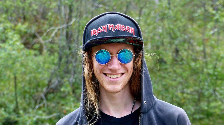 Niels Verhaeghe (21) vertrekt woensdag naar Noorwegen.