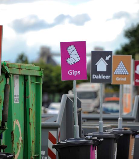 Dokken voor storten huisvuil op Milieupark Wegtersweg in Hengelo