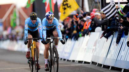 """Van Aert en Aerts leggen zich neer bij meesterschap Van der Poel: """"Hij is een van de strafste renners die ik al op eender welke fiets heb zien rondrijden"""""""