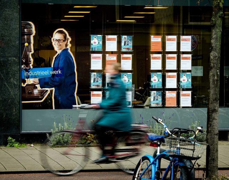 Uitzendkrachten zijn in trek,  Beeld ANP/Robin van Lonkhuijsen