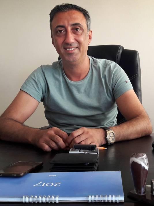 Politiechef Zafer Senocak van de Turkse stad Silifke.