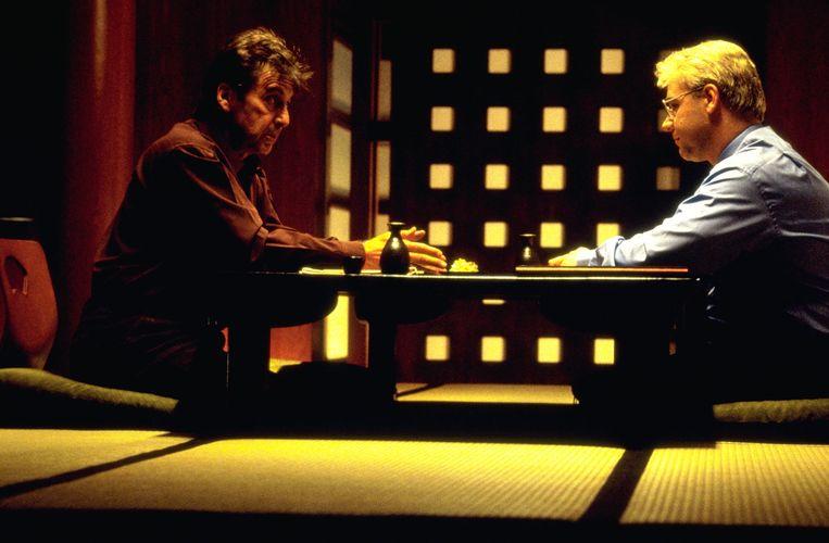 Al Pacino en Russel Crowe in The Insider (1999).  Beeld Foto Kippa