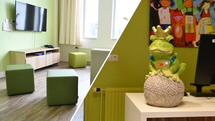 De kinderafdeling van een ziekenhuis in Hengelo, ter illustratie.