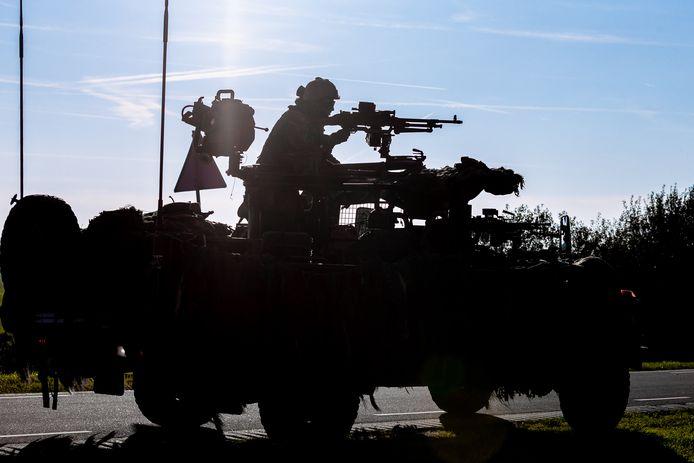 Een militaire oefening. Foto ter illustratie.