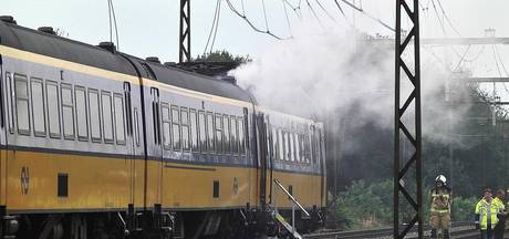 Brand in trein, geen treinverkeer tussen Meppel en Assen