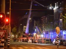 Tien woningen ontruimd door slaapkamerbrand Elandstraat