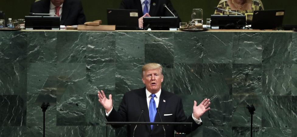 Trumps optreden voor de VN laat de wereld in verbijstering achter