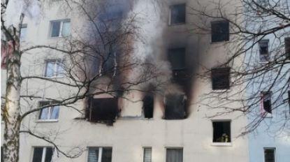 Eén dode en 25 gewonden bij explosie in Duitse meergezinswoning