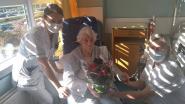 Nu ook patiënten UZ in de bloemen gezet met anonieme schenking van 110 azalea's
