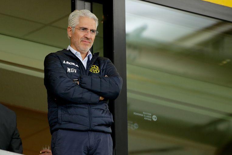 Maurico Garcia de La Vega tijdens een wedstrijd van Roda JC. Beeld BSR Agency