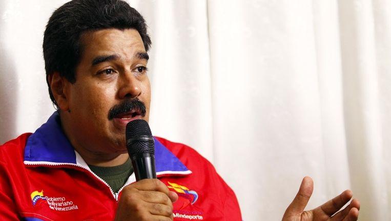 Nicolas Maduro. Beeld reuters