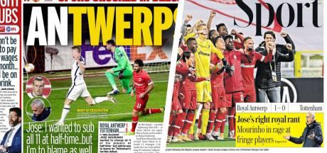 """Les journaux britanniques allument Tottenham: """"Mourinho et ses stars ont glissé leur pantalon jusqu'aux chevilles"""""""