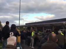 TEC-supporters op de vuist met fans Spakenburg