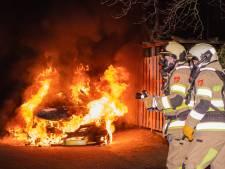 Woerden wéér opgeschrikt door autobrand